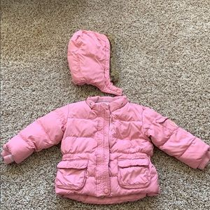 Girls Baby Gap Puffer Jacket.